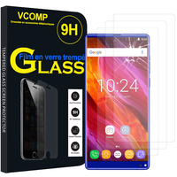 "OUKITEL Mix 2 4G 5.99"": Lot / Pack de 3 Films de protection d'écran Verre Trempé"