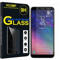 "Samsung Galaxy A6 (2018) 5.6""/ A6 2018 Dual SIM (non compatible Galaxy A6+/ A6 Plus (2018) 6.0""): 1 Film de protection d'écran Verre Trempé"