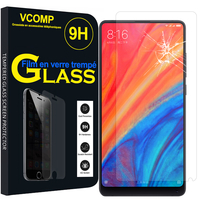 "Xiaomi Mi Mix 2S 5.99"" (non compatible Xiaomi Mi Mix 2 2017): 1 Film de protection d'écran Verre Trempé"