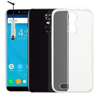 """OUKITEL C8 4G 5.5"""": Accessoire Housse Etui Coque gel UltraSlim et Ajustement parfait + mini Stylet - TRANSPARENT"""