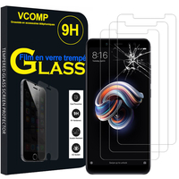 "Xiaomi Redmi Note 5/ Redmi Note 5 Pro 5.99"": Lot / Pack de 3 Films de protection d'écran Verre Trempé"