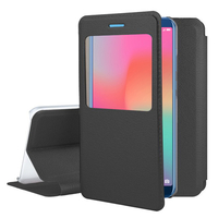 """Huawei Honor View 10 5.99""""/ Honor V10: Etui View Case Flip Folio Leather cover - NOIR"""