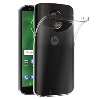 """Motorola Moto G6 5.7"""" (non compatible G6 Plus 5.9""""/ G6 Play 5.7""""): Accessoire Housse Etui Coque gel UltraSlim et Ajustement parfait - TRANSPARENT"""
