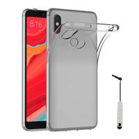 "Xiaomi Redmi S2 5.99"": Accessoire Housse Etui Coque gel UltraSlim et Ajustement parfait + mini Stylet - TRANSPARENT"