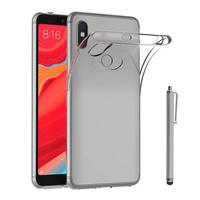 """Xiaomi Redmi S2 5.99"""": Accessoire Housse Etui Coque gel UltraSlim et Ajustement parfait + Stylet - TRANSPARENT"""
