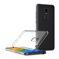 "Xiaomi Redmi 5 Plus 5.99"": Accessoire Housse Etui Coque gel UltraSlim et Ajustement parfait - TRANSPARENT"