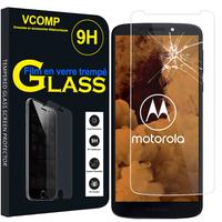 """Motorola Moto G6 Play XT1922 5.7"""" (non compatible Moto G6/ G6 Plus): 1 Film de protection d'écran Verre Trempé"""