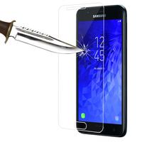 """Samsung Galaxy J7 (2018) 5.5"""" (non compatible Galaxy J7 Version 2015/ 2016/ 2017): Lot / Pack de 2 Films de protection d'écran Verre Trempé"""
