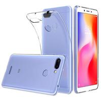 "Xiaomi Redmi 6 5.45"": Accessoire Housse Etui Coque gel UltraSlim et Ajustement parfait - TRANSPARENT"