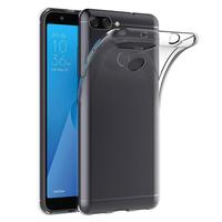 """Asus Zenfone Max Plus (M1) ZB570TL 5.7"""": Accessoire Housse Etui Coque gel UltraSlim et Ajustement parfait - TRANSPARENT"""