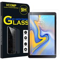 """Samsung Galaxy Tab A 10.5 (2018) SM-T590/ T595 10.5"""" [Les Dimensions EXACTES du telephone: 260 x 161.1 x 8 mm]: 1 Film de protection d'écran Verre Trempé"""