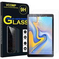 """Samsung Galaxy Tab A 10.5 (2018) SM-T590/ T595 10.5"""" [Les Dimensions EXACTES du telephone: 260 x 161.1 x 8 mm]: Lot / Pack de 2 Films de protection d'écran Verre Trempé"""