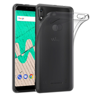 """Wiko View Max 5.99"""" (non compatible Wiko View 5.7""""): Accessoire Housse Etui Coque gel UltraSlim et Ajustement parfait - TRANSPARENT"""