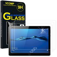 """Huawei MediaPad M3 Lite 10 (10.1""""): Lot / Pack de 3 Films de protection d'écran Verre Trempé"""