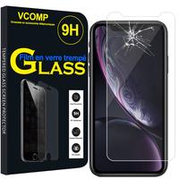 """Apple iPhone XR (2018) 6.1"""" A1984: 1 Film de protection d'écran Verre Trempé"""