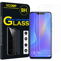 "Huawei P Smart+/ P Smart Plus/ Nova 3i 6.3"" INE-LX1/ LX2/ L21 (non compatible Huawei P smart 5.65""/ Nova 5.0""/ Nova 3): Lot / Pack de 3 Films de protection d'écran Verre Trempé"