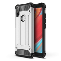 """Xiaomi Redmi S2 5.99"""": Coque Antichoc Rugged Armor Neo Hybrid carbone - ARGENT"""