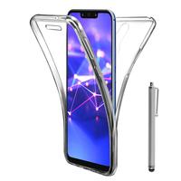 """Huawei Mate 20 Lite 6.3""""/ Maimang 7/ SNE-AL00/ SNE-LX1: Coque Housse Silicone Gel TRANSPARENTE ultra mince 360° protection intégrale Avant et Arrière + Stylet - TRANSPARENT"""
