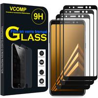 """Samsung Galaxy A8 (2018) A530F 5.6""""/ A8 (2018) Duos A530F/DS: Lot / Pack de 3 Films de protection d'écran Verre Trempé"""