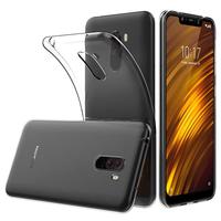 "Xiaomi Pocophone F1/ Poco F1 6.18"" M1805E10A: Accessoire Housse Etui Coque gel UltraSlim et Ajustement parfait - TRANSPARENT"
