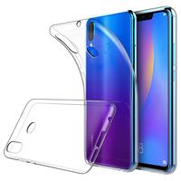 """Huawei P Smart+/ P Smart Plus/ Nova 3i 6.3"""" INE-LX1/ LX2/ L21 (non compatible Huawei P smart 5.65""""/ Nova 5.0""""/ Nova 3): Accessoire Housse Etui Coque gel UltraSlim et Ajustement parfait - TRANSPARENT"""