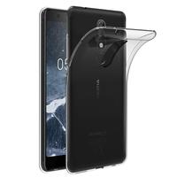 "Nokia 5.1 (2018) 5.5"" (non compatible Nokia 5 (2017) 5.2""/ Nokia 5.1 Plus 5.86""): Accessoire Housse Etui Coque gel UltraSlim et Ajustement parfait - TRANSPARENT"