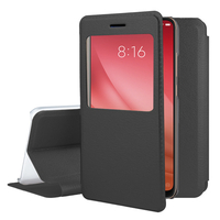 "Xiaomi Mi 8 Pro/ Mi 8 Explorer 6.21"" (non compatible Xiaomi Mi 8 SE 5.88""/ Mi 8 Lite 6.26""/ Mi 8 Youth (Mi 8X)): Etui View Case Flip Folio Leather cover - NOIR"
