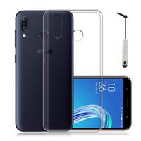 """Asus Zenfone Max Pro (M1) ZB601KL/ ZB602KL 5.99"""" (non compatible Zenfone Max Plus (M1) ZB570TL/ Zenfone Max (M1) ZB555KL/ ZB556KL): Accessoire Housse Etui Coque gel UltraSlim et Ajustement parfait + mini Stylet - TRANSPARENT"""