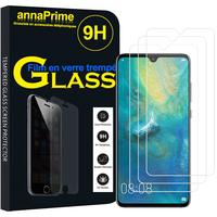 """Huawei Mate 20 6.53"""" HMA-L09/ HMA-L29 (non compatible Mate 20 lite/ Mate 20 Pro/ Mate 20 X): Lot / Pack de 3 Films de protection d'écran Verre Trempé"""