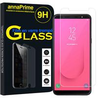 "Samsung Galaxy J8 (2018) 6.0"" J810F/DS J810G/DS J810Y/DS [Les Dimensions EXACTES du telephone: 159.2 x 75.7 x 8.2 mm]: 1 Film de protection d'écran Verre Trempé"