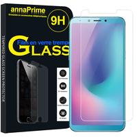 "Samsung Galaxy A6S (2018) 6.0"" SM-G6200 (non compatible Galaxy A6 (2018) 5.6""/ Galaxy A6+ 6.0""): 1 Film de protection d'écran Verre Trempé"