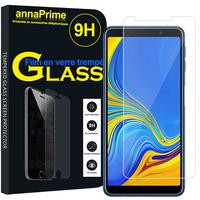 "Samsung Galaxy A7 (2018) 6.0"" SM-A750F (non compatible Version 2014/ 2015/ 2016/ 2017): 1 Film de protection d'écran Verre Trempé"