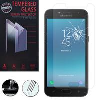 "Samsung Galaxy J2 (2018) 5.0""/ J2 Pro (2018)/ Galaxy Grand Prime Pro (2018)/ J2 2018 Duos/ SM-J250F/ J250G/ J250M/ J250N (non compatible Galaxy J2 Version 2017/ 2016/ 2015): 1 Film de protection d'écran Verre Trempé"