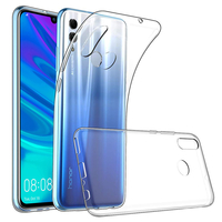 """Huawei Honor 10 Lite 6.21"""" HRY-AL00/ HRY-AL00a/ HRY-TL00 (non compatible Huawei Honor 10 5.84""""): Accessoire Housse Etui Coque gel UltraSlim et Ajustement parfait - TRANSPARENT"""