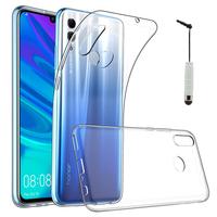 """Huawei Honor 10 Lite 6.21"""" HRY-AL00/ HRY-AL00a/ HRY-TL00 (non compatible Huawei Honor 10 5.84""""): Accessoire Housse Etui Coque gel UltraSlim et Ajustement parfait + mini Stylet - TRANSPARENT"""