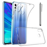 """Huawei Honor 10 Lite 6.21"""" HRY-AL00/ HRY-AL00a/ HRY-TL00 (non compatible Huawei Honor 10 5.84""""): Accessoire Housse Etui Coque gel UltraSlim et Ajustement parfait + Stylet - TRANSPARENT"""