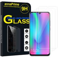 """Huawei Honor 10 Lite 6.21"""" HRY-AL00/ HRY-AL00a/ HRY-TL00 (non compatible Huawei Honor 10 5.84""""): Lot / Pack de 3 Films de protection d'écran Verre Trempé"""