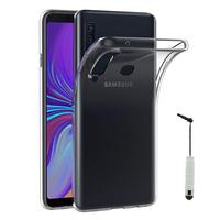 "Samsung Galaxy A9 (2018) 6.3"" SM-A920F/ Galaxy A9S/ A9 Star Pro (non compatible Galaxy A9 (2016) 6.0""): Accessoire Housse Etui Coque gel UltraSlim et Ajustement parfait + mini Stylet - TRANSPARENT"