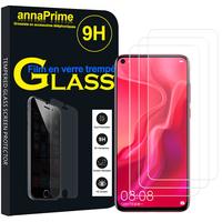 """Huawei Nova 4 6.4"""" VCE-AL00/ VCE-TL00 (non compatible Huawei Nova 5.0""""): Lot / Pack de 3 Films de protection d'écran Verre Trempé"""