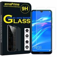 """Huawei Y7 Prime (2019) 6.26"""" DUB-LX1 DUB-LX3 (non compatible Huawei Y7 Prime (2018) 5.99""""): 1 Film de protection d'écran Verre Trempé"""