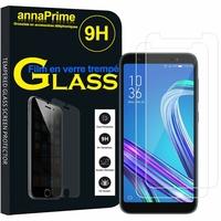 """Asus ZenFone Live (L1) ZA550KL 5.5""""/ ASUS_X00RD (non compatible Zenfone Live ZB501KL 5.0""""): Lot / Pack de 2 Films de protection d'écran Verre Trempé"""