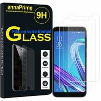 """Asus ZenFone Live (L1) ZA550KL 5.5""""/ ASUS_X00RD (non compatible Zenfone Live ZB501KL 5.0""""): Lot / Pack de 3 Films de protection d'écran Verre Trempé"""