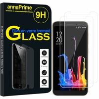 """Asus ZenFone Lite (L1) ZA551KL 5.45""""/ ASUS_X00RD (non compatible Zenfone Live ZB501KL 5.0""""): Lot / Pack de 2 Films de protection d'écran Verre Trempé"""