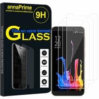 """Asus ZenFone Lite (L1) ZA551KL 5.45""""/ ASUS_X00RD (non compatible Zenfone Live ZB501KL 5.0""""): Lot / Pack de 3 Films de protection d'écran Verre Trempé"""