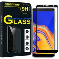 "Samsung Galaxy J4+/ J4 Plus (2018) 6.0"" (non compatible Galaxy J4 5.5"") [Les Dimensions EXACTES du telephone: 161.4 x 76.9 x 7.9 mm]: 1 Film de protection d'écran Verre Trempé"