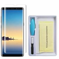 """Samsung Galaxy Note 8 6.3""""/ Note8 Duos: 1 Film de Protection d'écran en Verre trempé Nano incurve?e 3D avec Liquide et Lampe UV"""