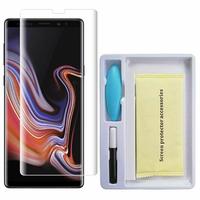 """Samsung Galaxy Note 9 6.4""""/ Note9 Duos SM-N960F/ SM-N960U/ SM-N960F/DS: 1 Film de Protection d'écran en Verre trempé Nano incurve?e 3D avec Liquide et Lampe UV"""