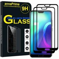 """Huawei Honor 10/ Honor 10 GT 5.84"""" (non compatible Huawei Honor View 10 5.99""""): Lot / Pack de 2 Films de protection d'écran Verre Trempé"""
