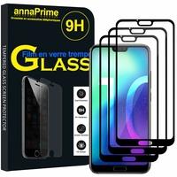 """Huawei Honor 10/ Honor 10 GT 5.84"""" (non compatible Huawei Honor View 10 5.99""""): Lot / Pack de 3 Films de protection d'écran Verre Trempé"""