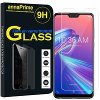 """Asus Zenfone Max Pro (M2) ZB631KL/ ZB630KL 6.26"""" (non compatible Zenfone Max (M2) ZB633KL): 1 Film de protection d'écran Verre Trempé"""